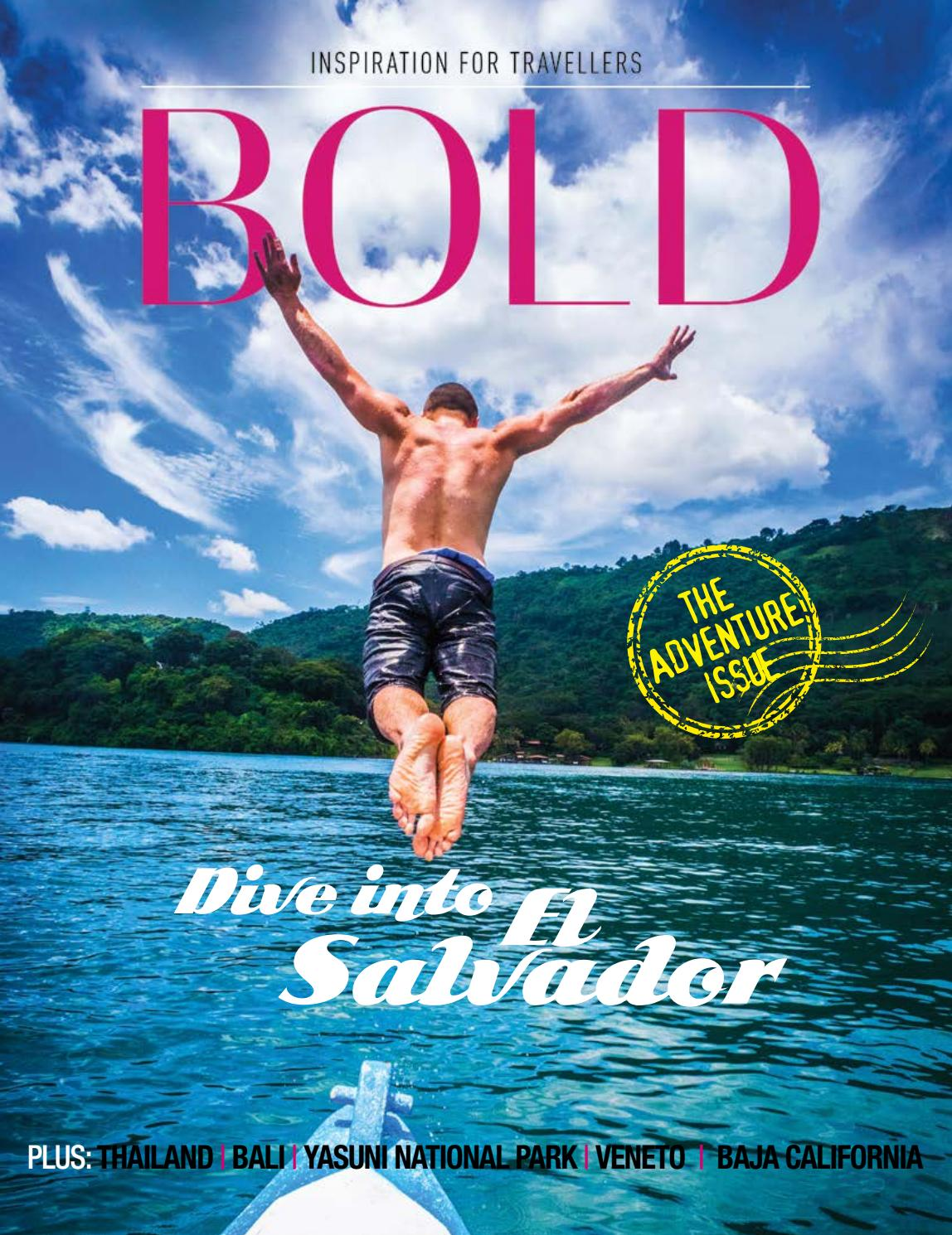Bold Issue #33 The Adventure Issue by MORENO & CO - issuu