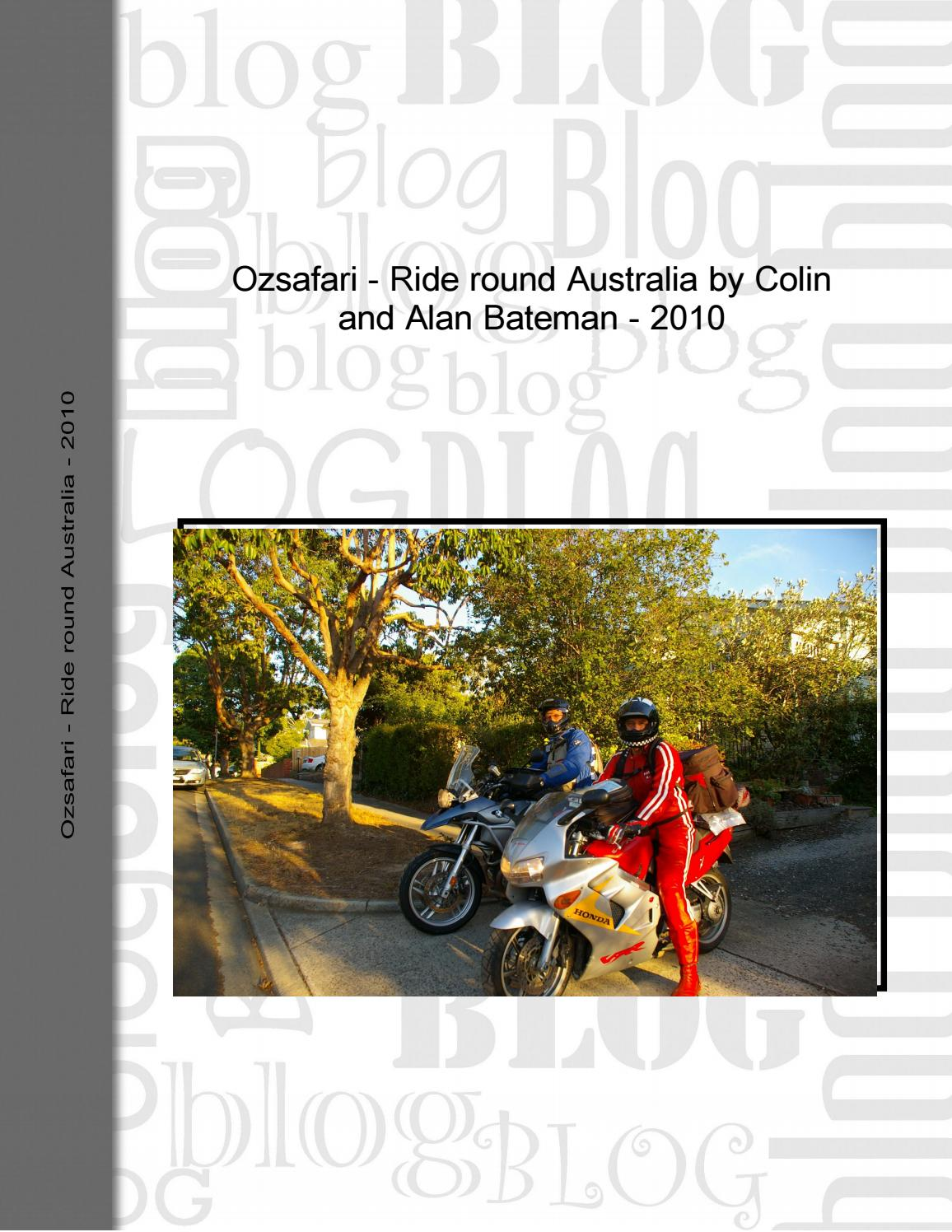 Ride round australia by Colin and Alan Bateman 2010 by Alan