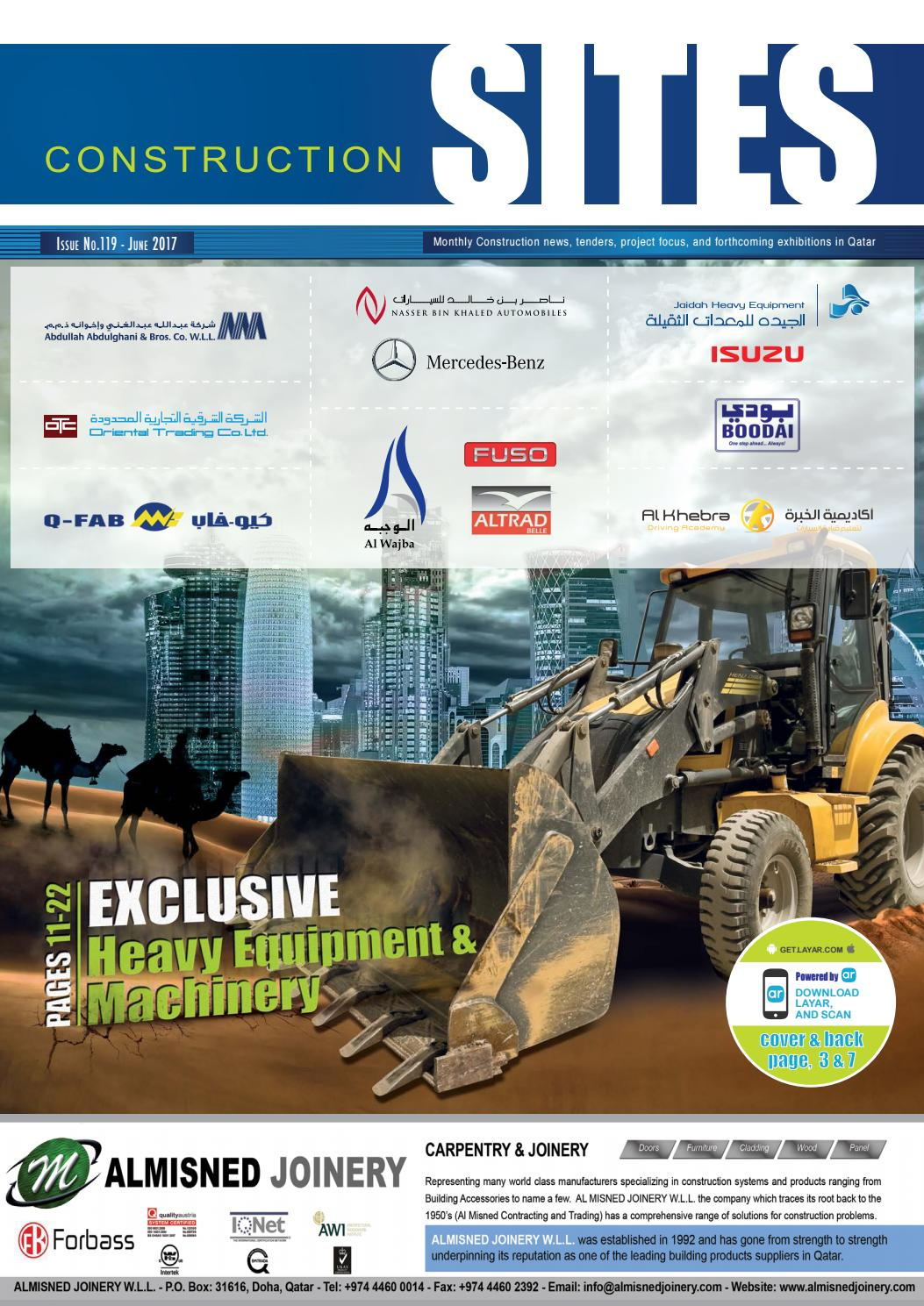 Construction Sites | June issue no  119 by Qatar