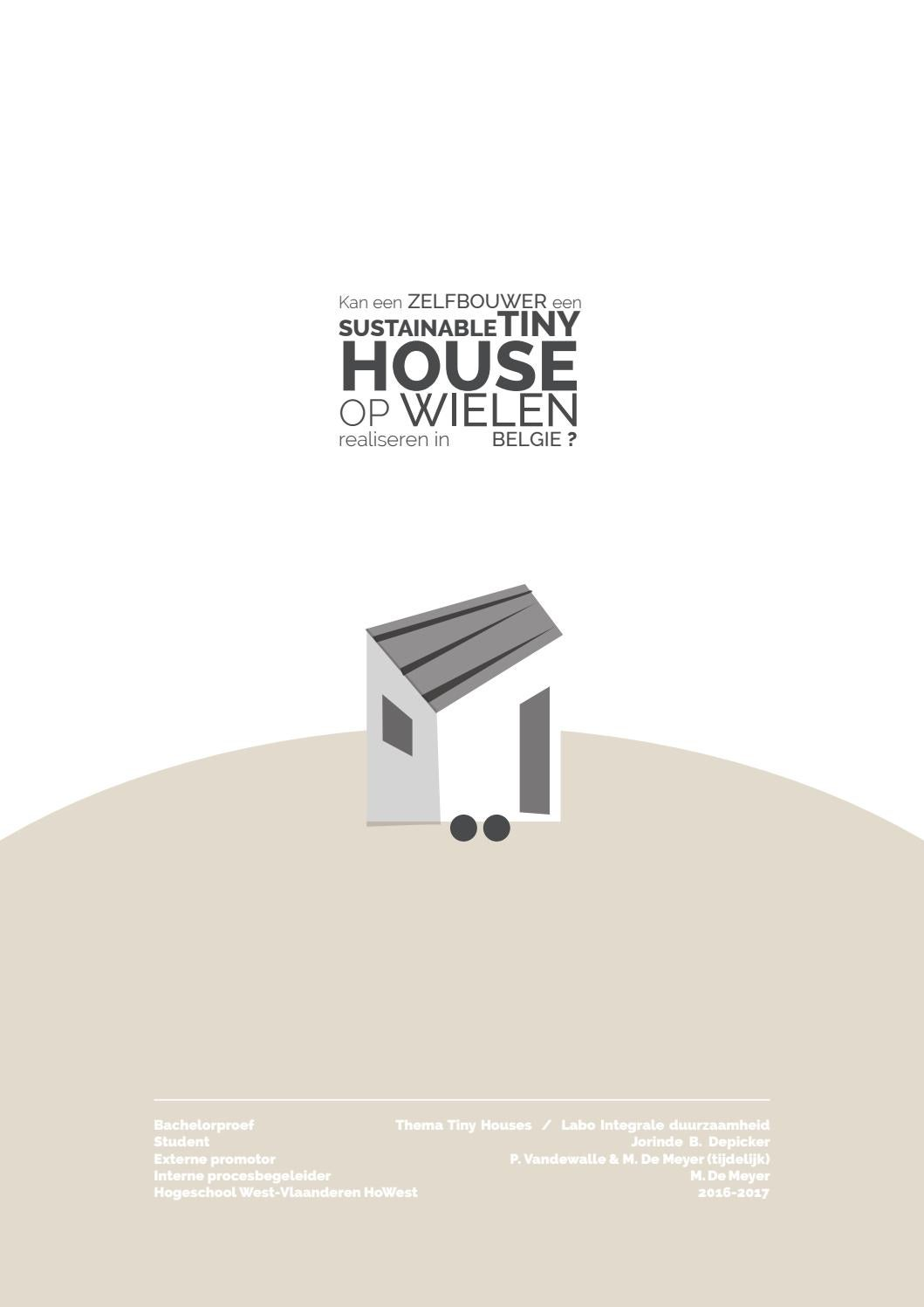 tiny house op wielen 2017 by jbd issuu