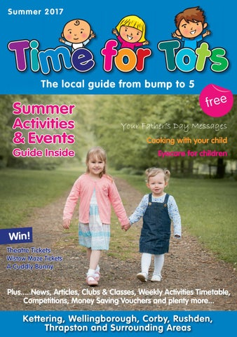 Time For Tots Magazine Summer 2017 By Issuu