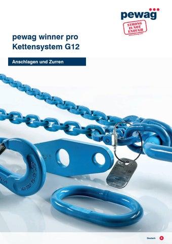 Pewag Winner Pro Kettensystem G12 Katalog By Pewag Issuu