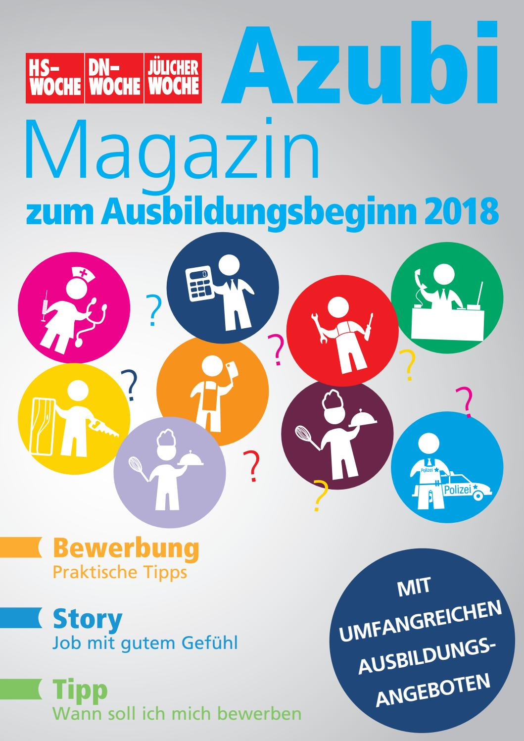 Azubimagazin 2018 by W.V.G. Werbe- & Verlagsgesellschaft mbH & Co. KG -  issuu