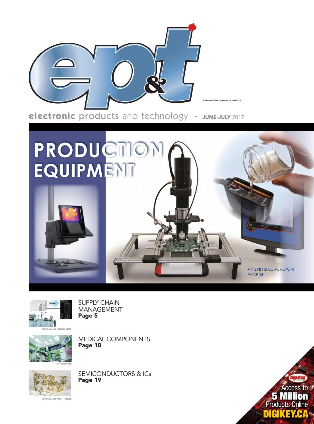 Electronic Products And Technology June July 2017 By Annex Newcom Lp Koa Speer Electronics Your Passive Component Partner Issuu
