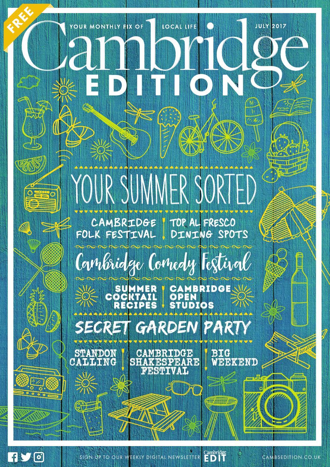 Cambridge Edition July by Bright Publishing - issuu
