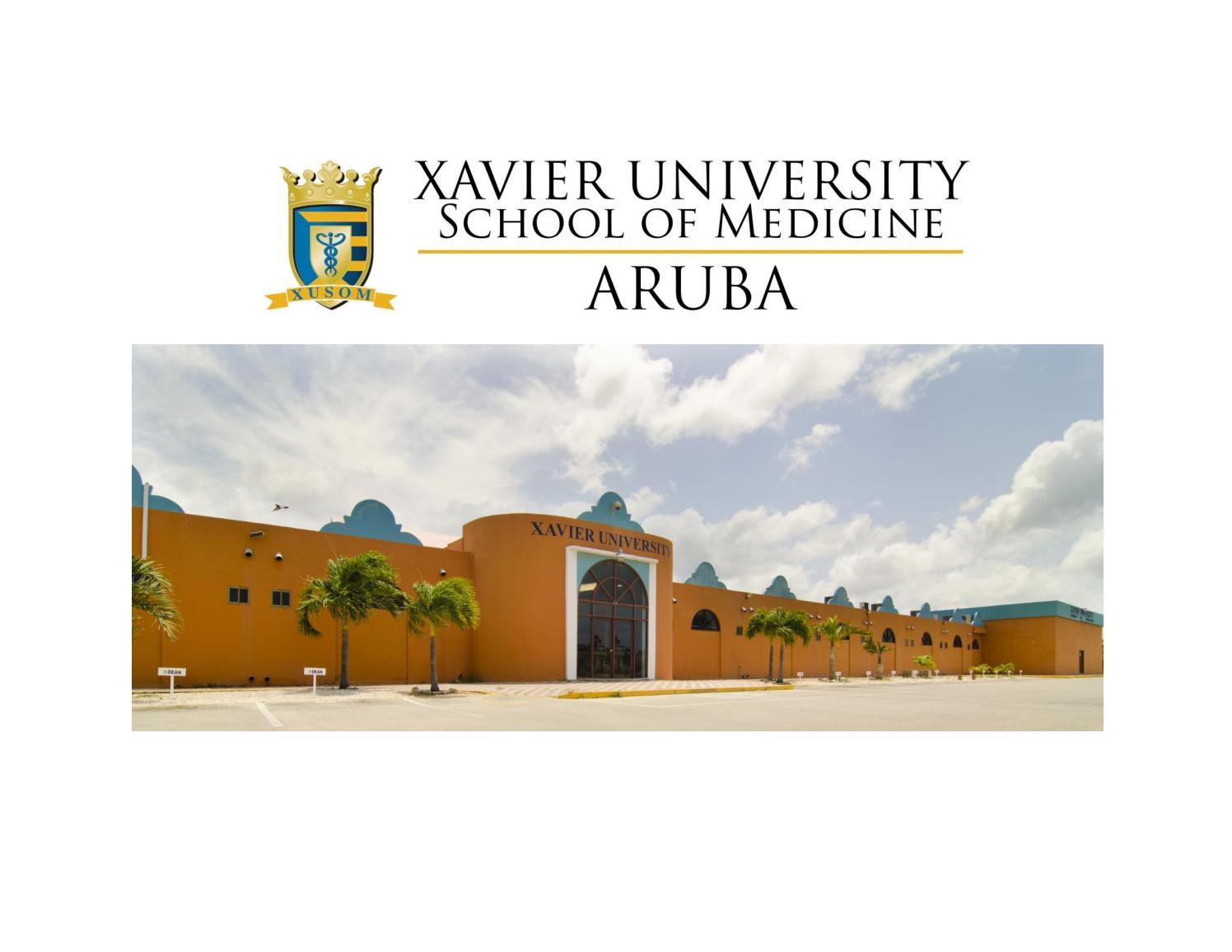 School flip book by Xavier University School of Medicine - issuu