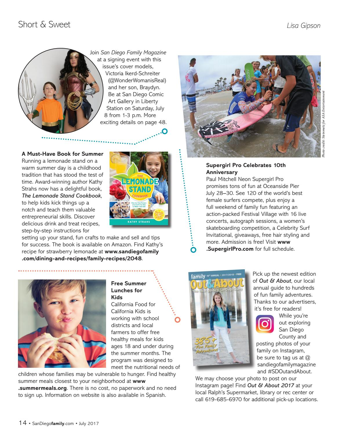eabc233dabaa93 San Diego Family Magazine - July 2017 by San Diego Family Magazine ...