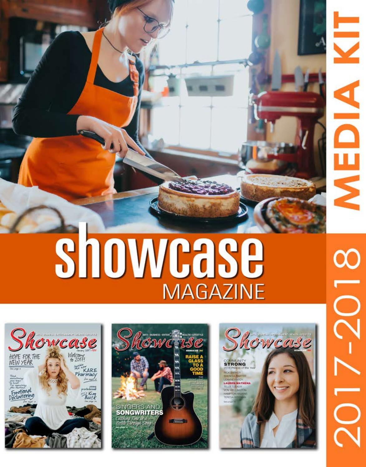 2017-2018 Showcase Magazine Media Kit by Andrew Brooks ...