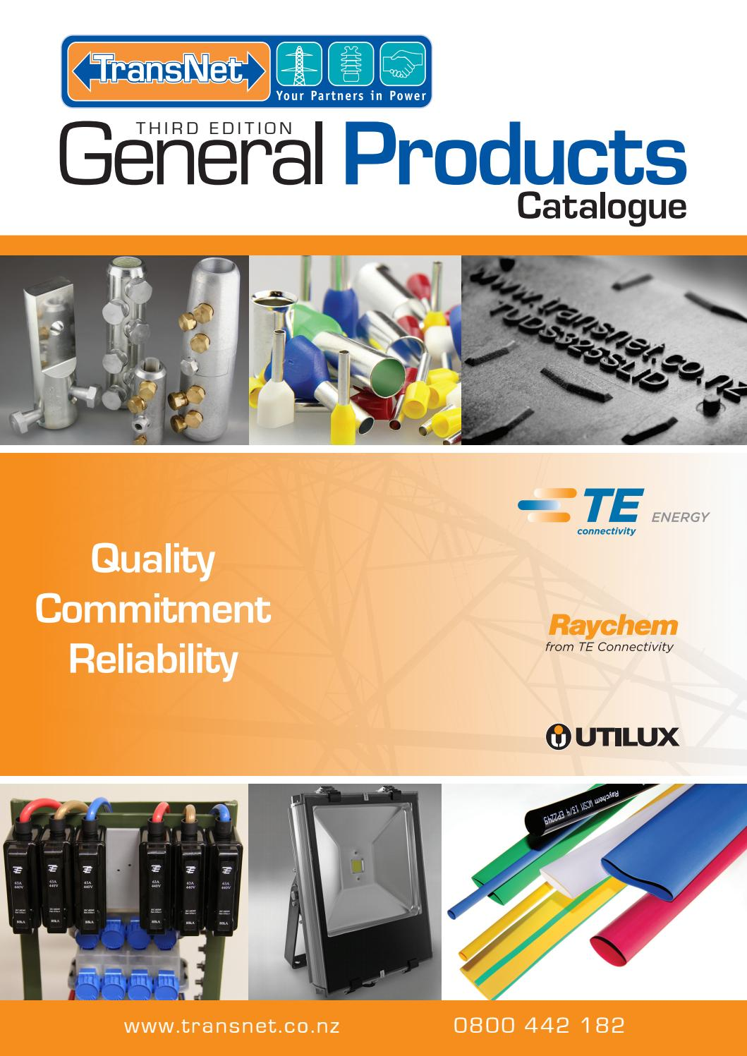 Transnet General Products Catalogue 2013 By Transnet Nz