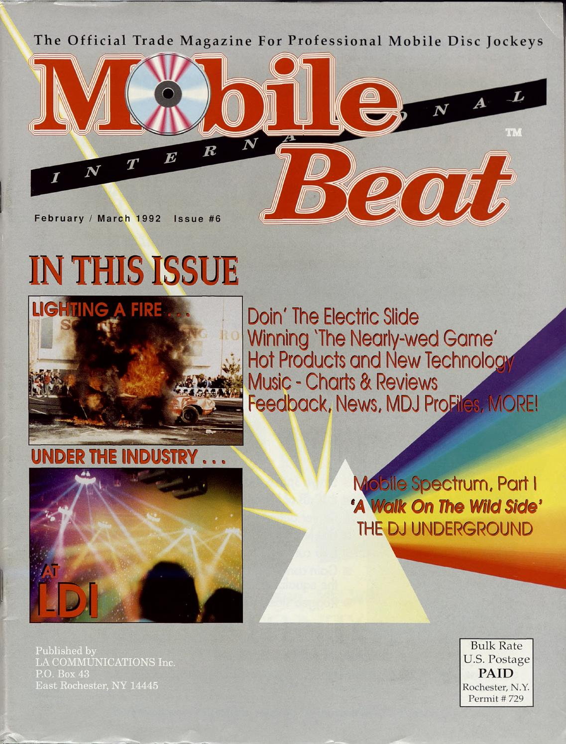 Issue 006 - February/March 1992 - Lighting A Fire Under The