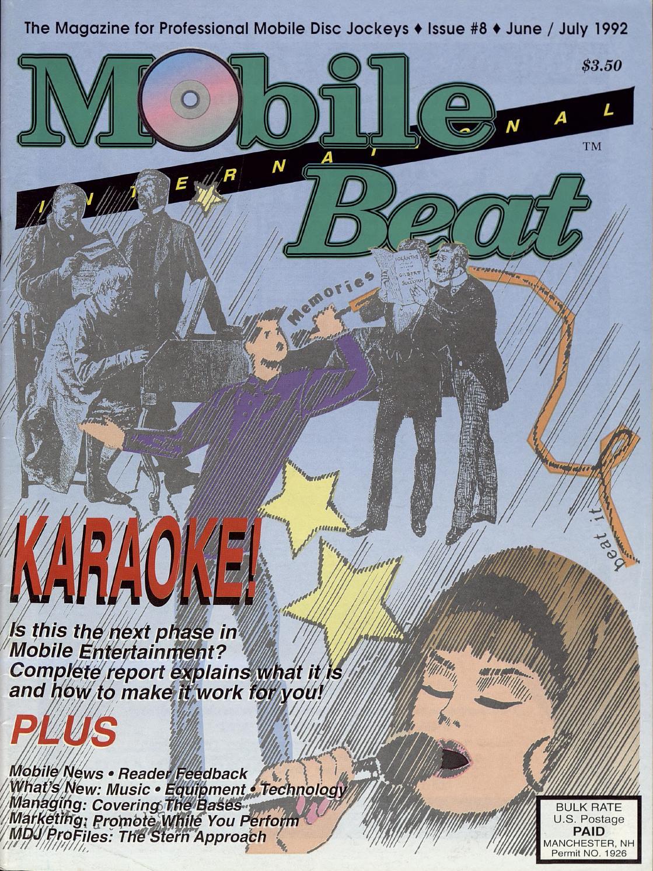 Issue 008 - June/July 1992 - Karaoke! by Mobile Beat