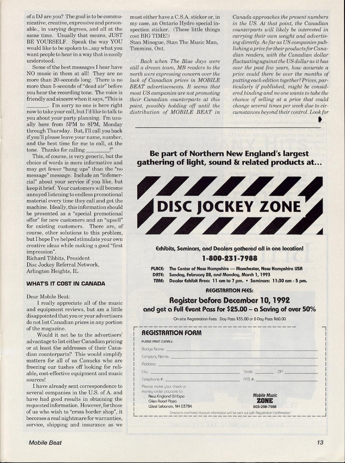 Issue 011 - December 1992 - Year End Special by Mobile Beat