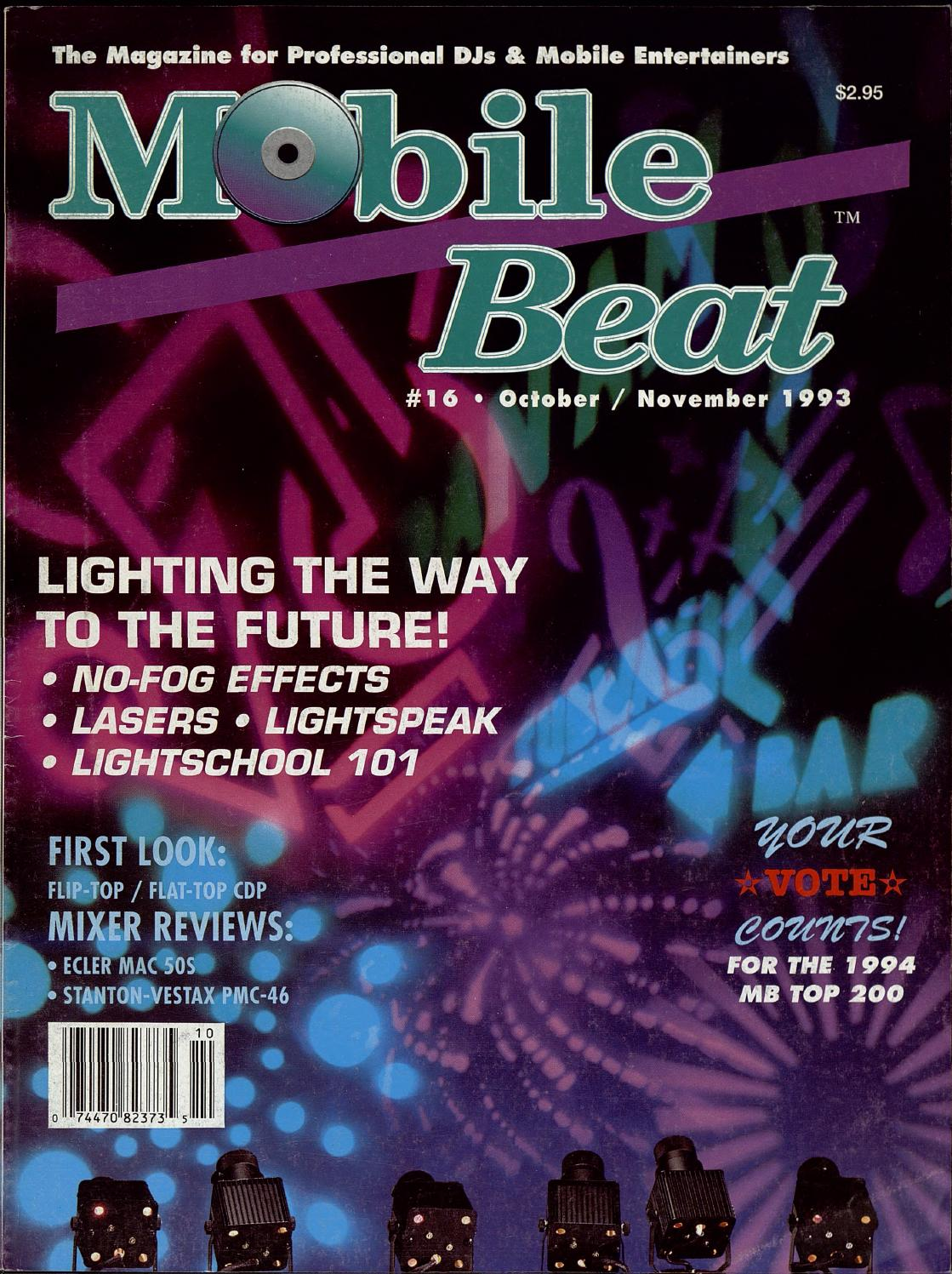 Issue 016 Octobernovember 1993 Lighting The Way To The