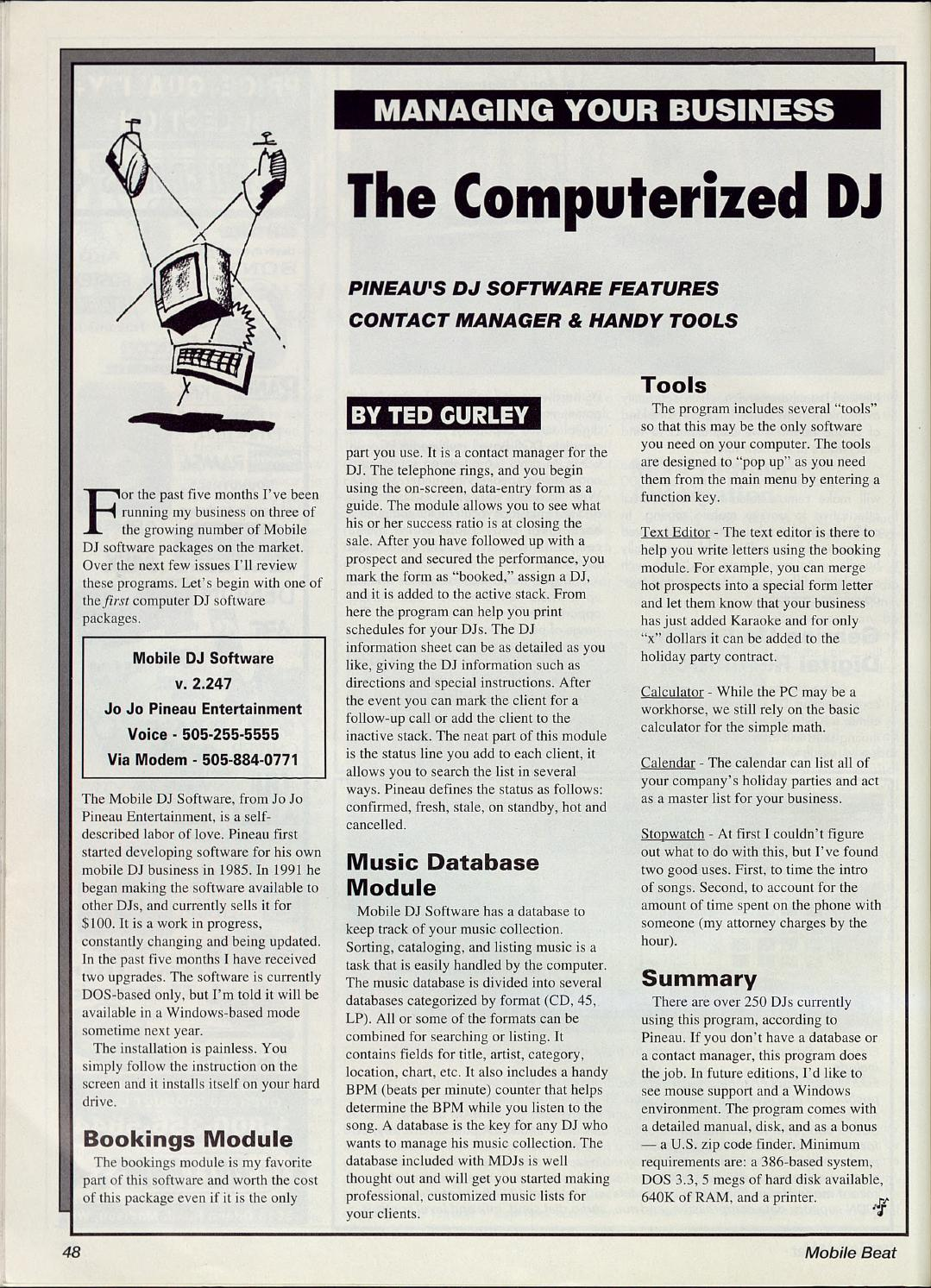 Issue 019 - April/May 1994 - 3rd Anniversary Issue by Mobile Beat