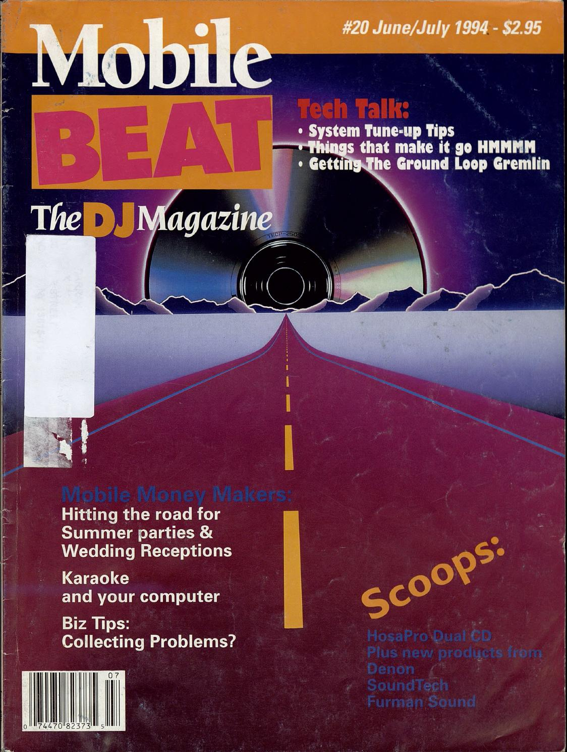 Issue 020 - June/July 1994 - Mobile Money Makers by Mobile Beat