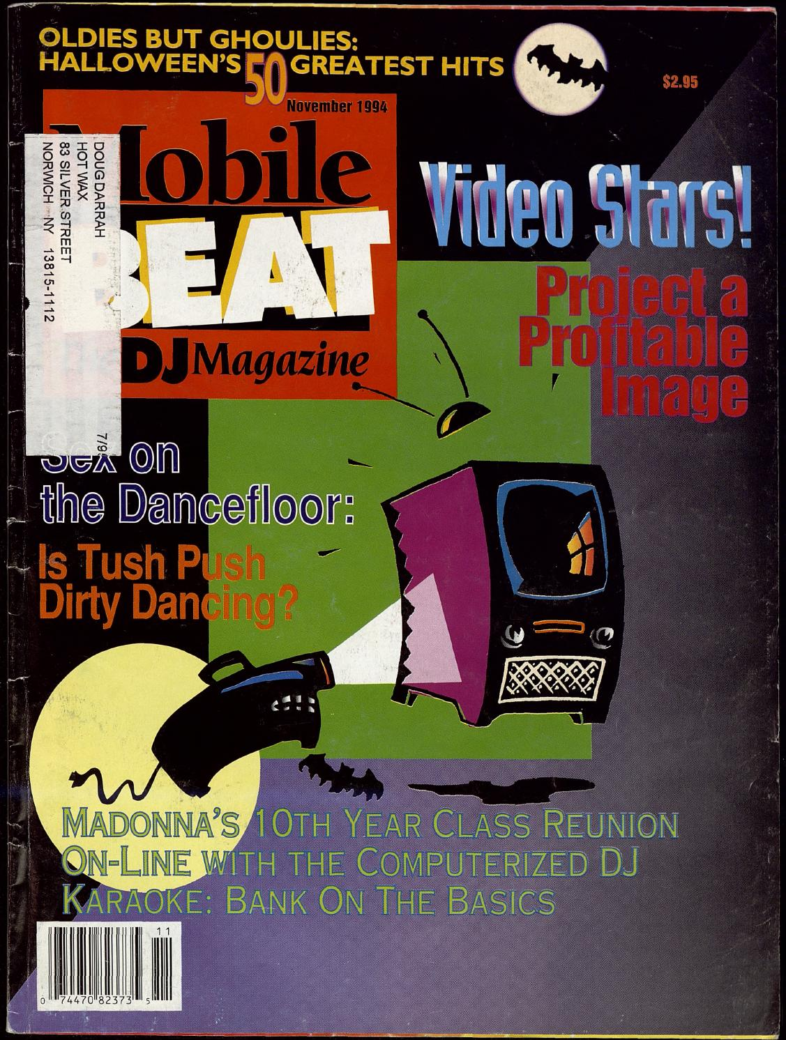 Issue 022 - November 1994 - Video Stars!