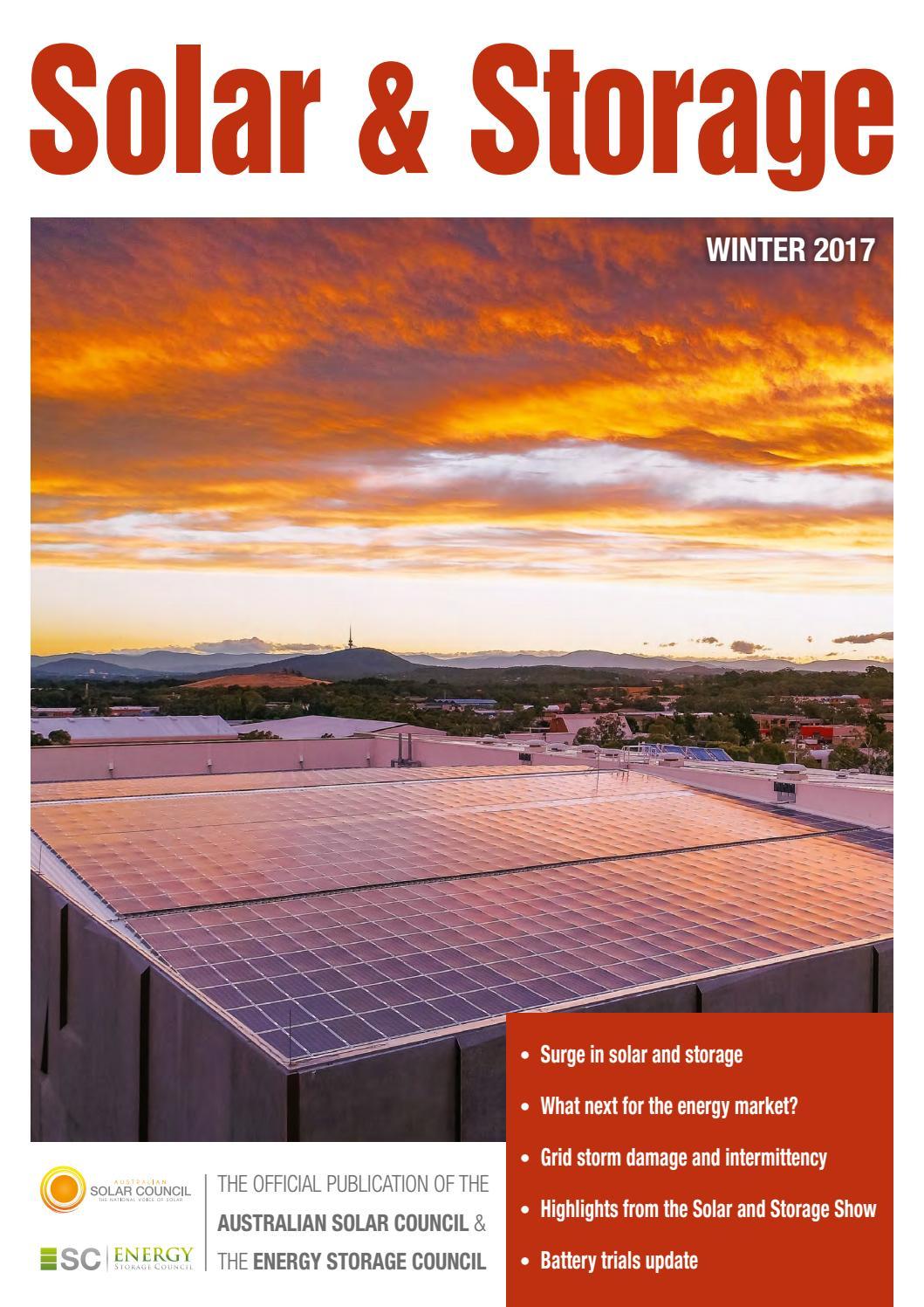 Solar Storage Winter 2017 By Smart Energy Council Issuu Empower Inverter Wiring Diagram