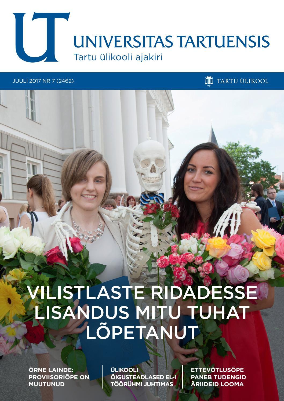 4f7311e7109 UT juuli 2017, nr 7 by Universitas Tartuensis - issuu