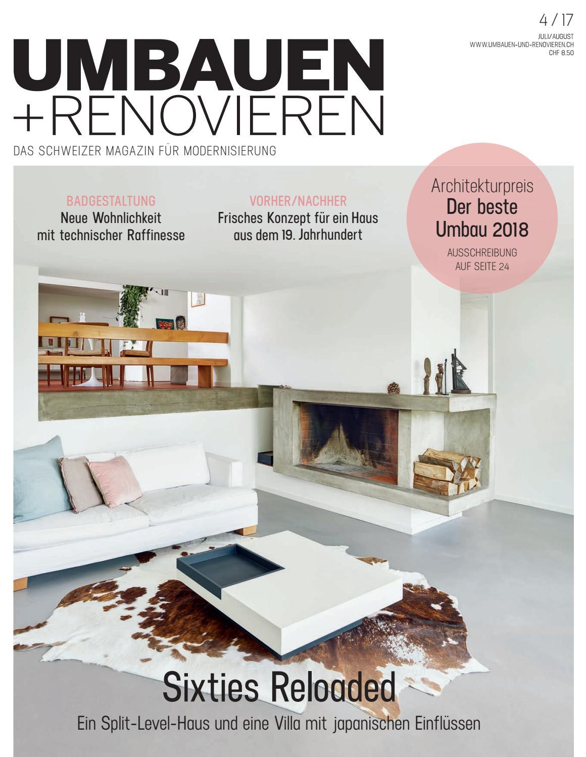 UMBAUEN + RENOVIEREN 04/2017 by Archithema Verlag - issuu
