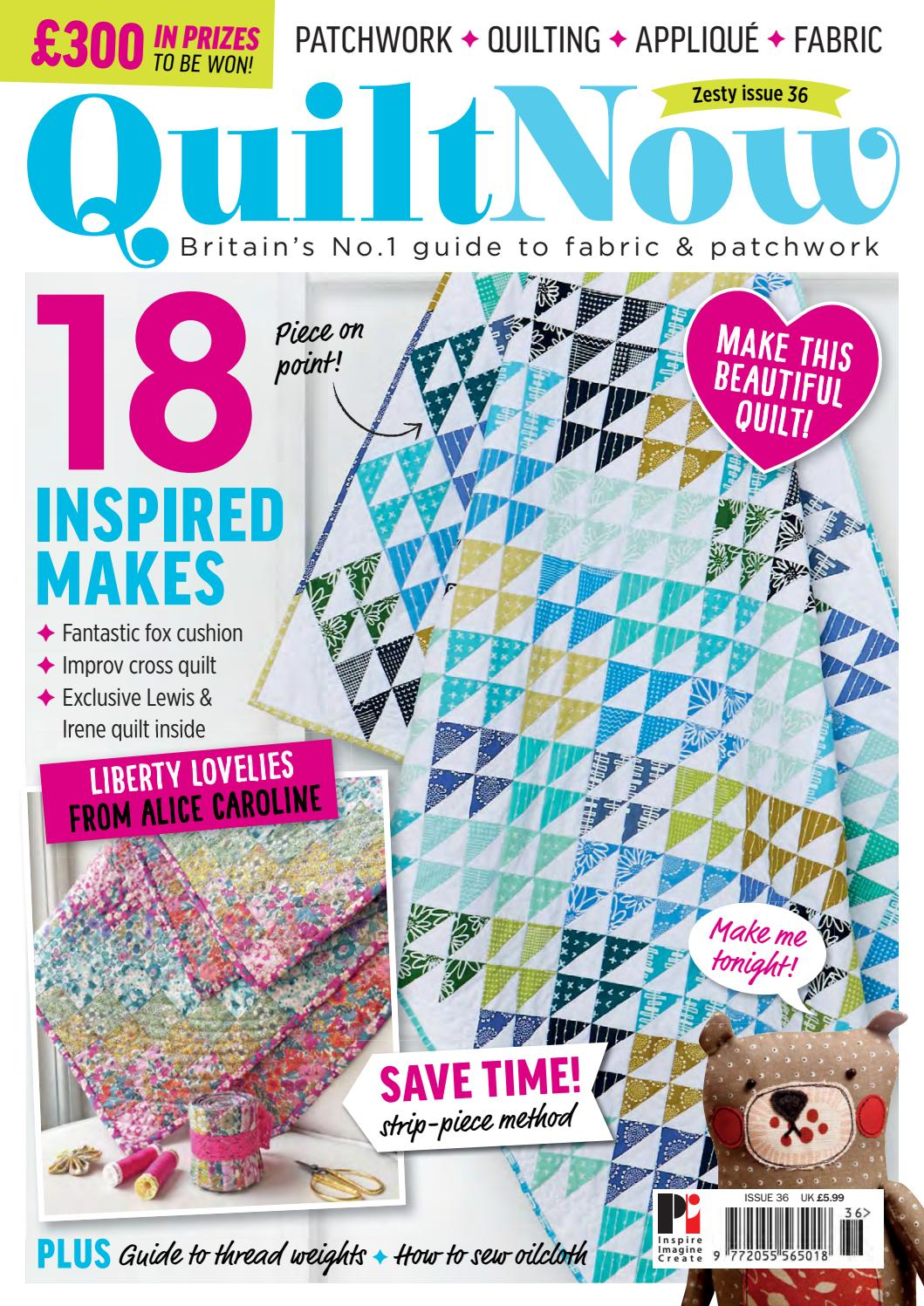 Quilt Now Sampler by Practical Publishing - issuu