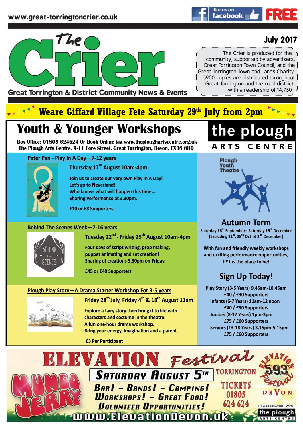 July Crier 2017 By The Torrington Issuu Displaying 20gt Images For Solution Science Example