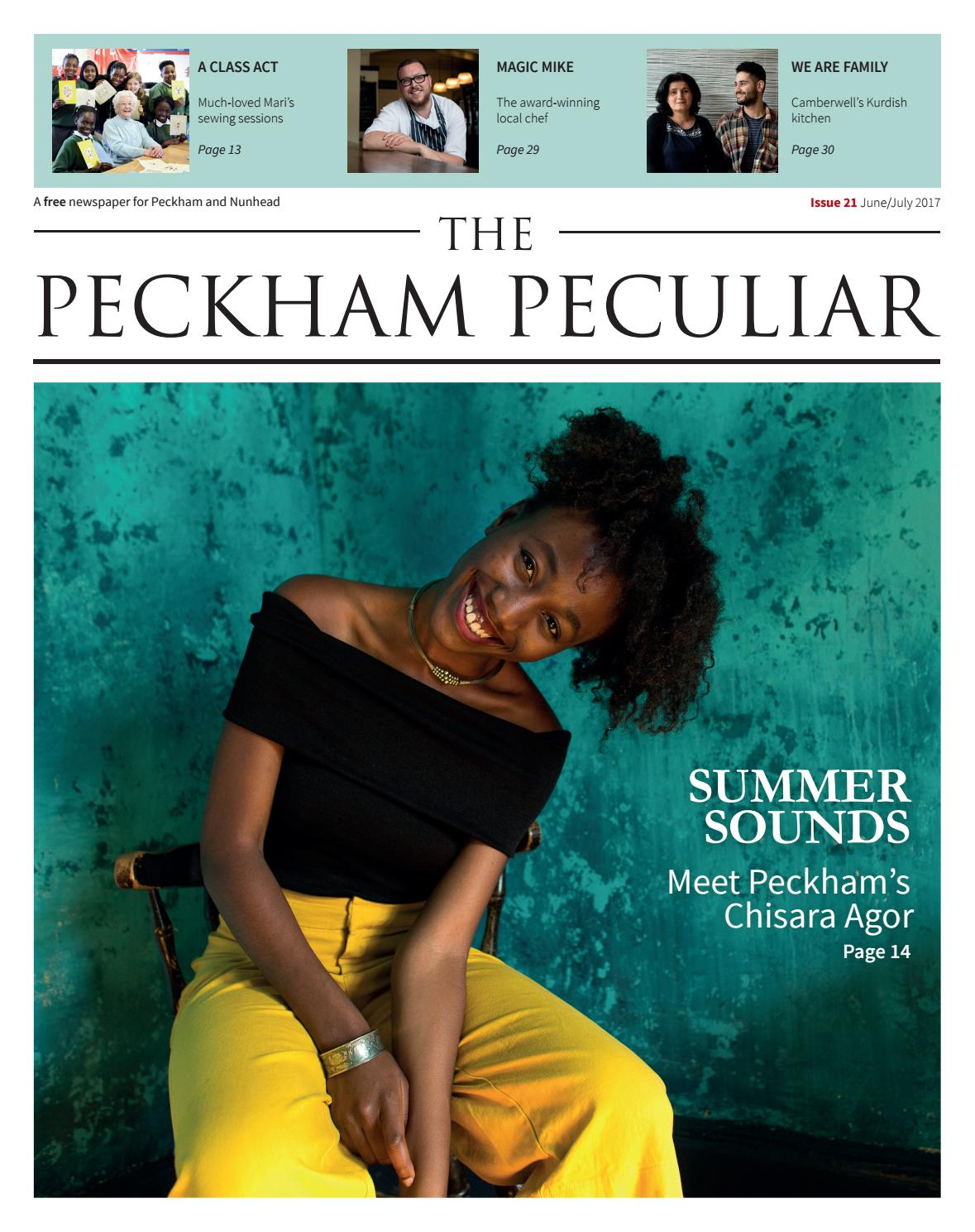 Issue 21 of The Peckham Peculiar by The Peckham Peculiar - issuu