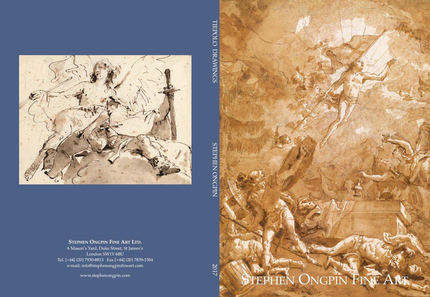 Stephen Ongpin Fine Art - Tiepolo Drawings by ArtSolution