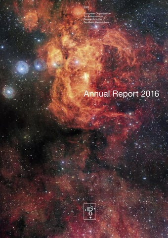 ESO Annual Report 2016 by European Southern Observatory - issuu