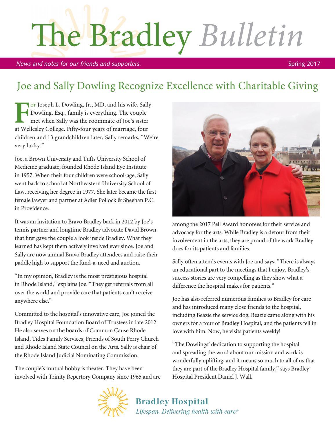 The Bradley Bulletin: Spring 2017 by lifespanmc - issuu