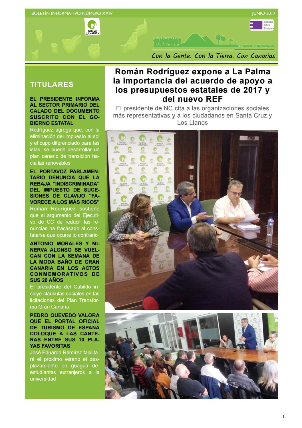 88698451a7 Boletín XXIV junio 2017 by Nueva Canarias - issuu