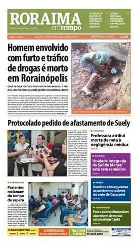 Jornal roraima em tempo – edição 657 by RoraimaEmTempo - issuu bbf46cd027311
