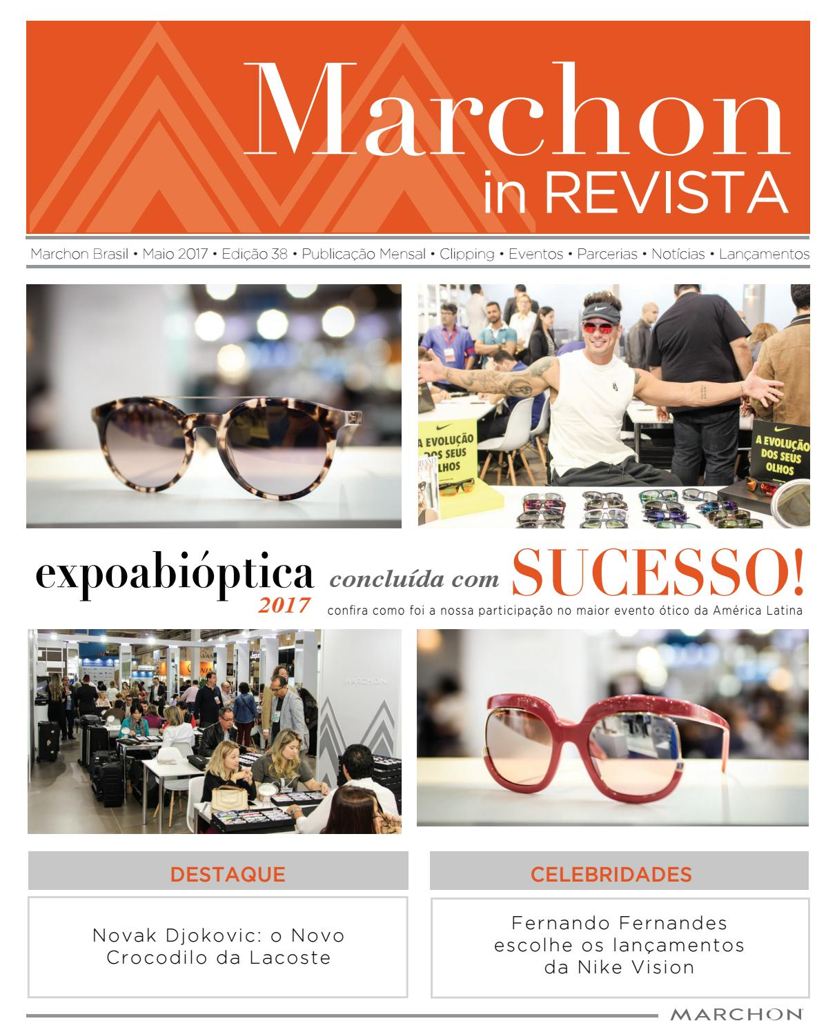 Marchon in Revista • Junho 2017 by Marchon - issuu c398114514