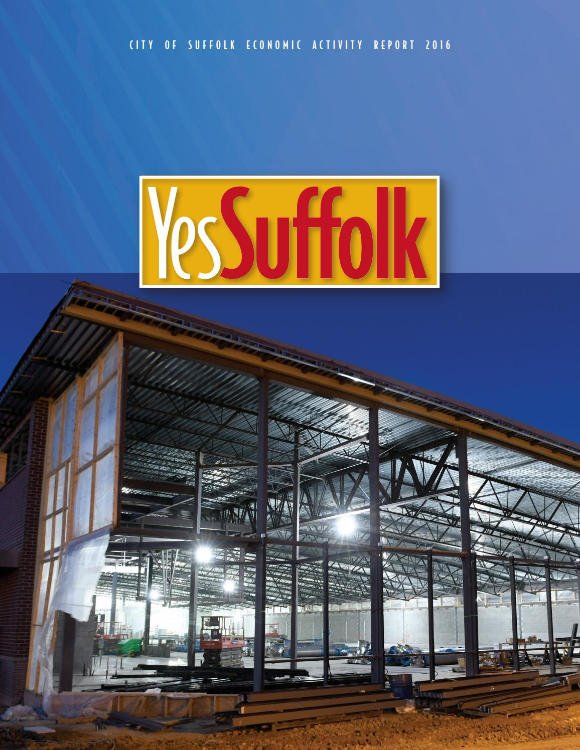 2016 Economic Activity Report By City Of Suffolk, Virginia -3204