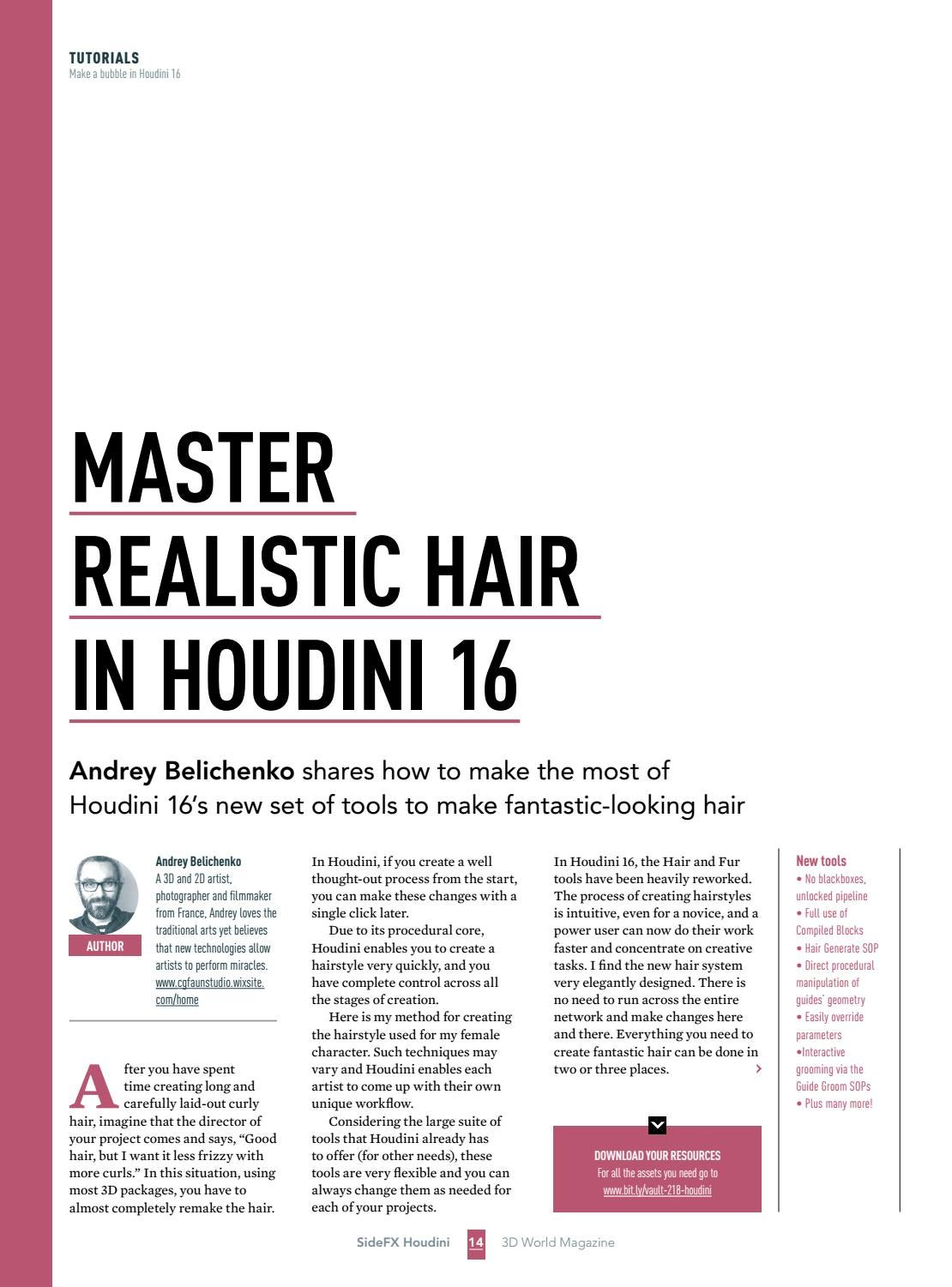 Power Up Your Houdini Skills with SideFX by Future PLC - issuu
