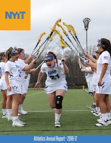 NYIT Athletics Annual Report 2016-17