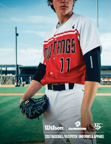 cb3145e80b2 Wilson Baseball and Softball Uniform Catalog 2017 by LTS - Legacy ...