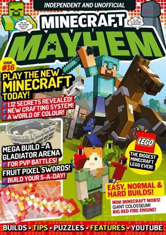 Minecraft Mayhem 16 Sampler By Future Plc Issuu
