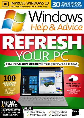 Windows Help and Advice 137 (Sampler) by Future PLC - issuu