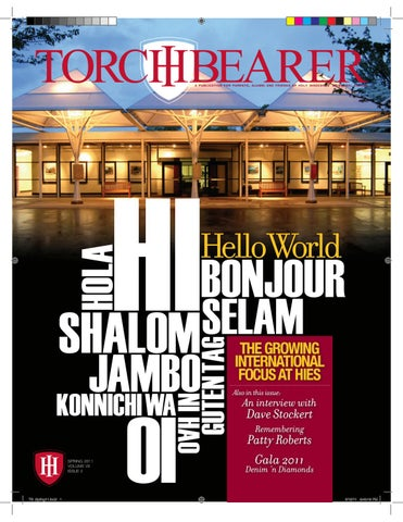 423759635 Torchbearer Spring 2011 | Volume VII | Issue 2 by Holy Innocents ...