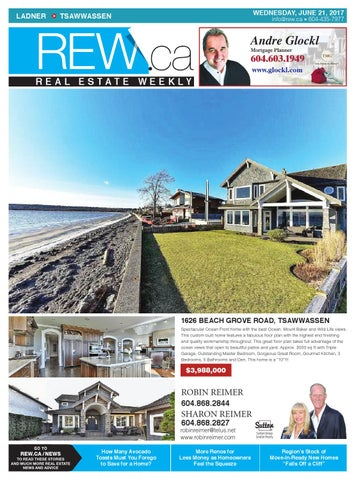 LADNER TSAWWASSEN Jun 21 2017 Real Estate Weekly by Real Estate