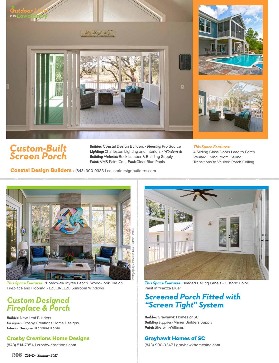 Charleston Home + Design Magazine: Summer 2017 by Charleston Home + ...