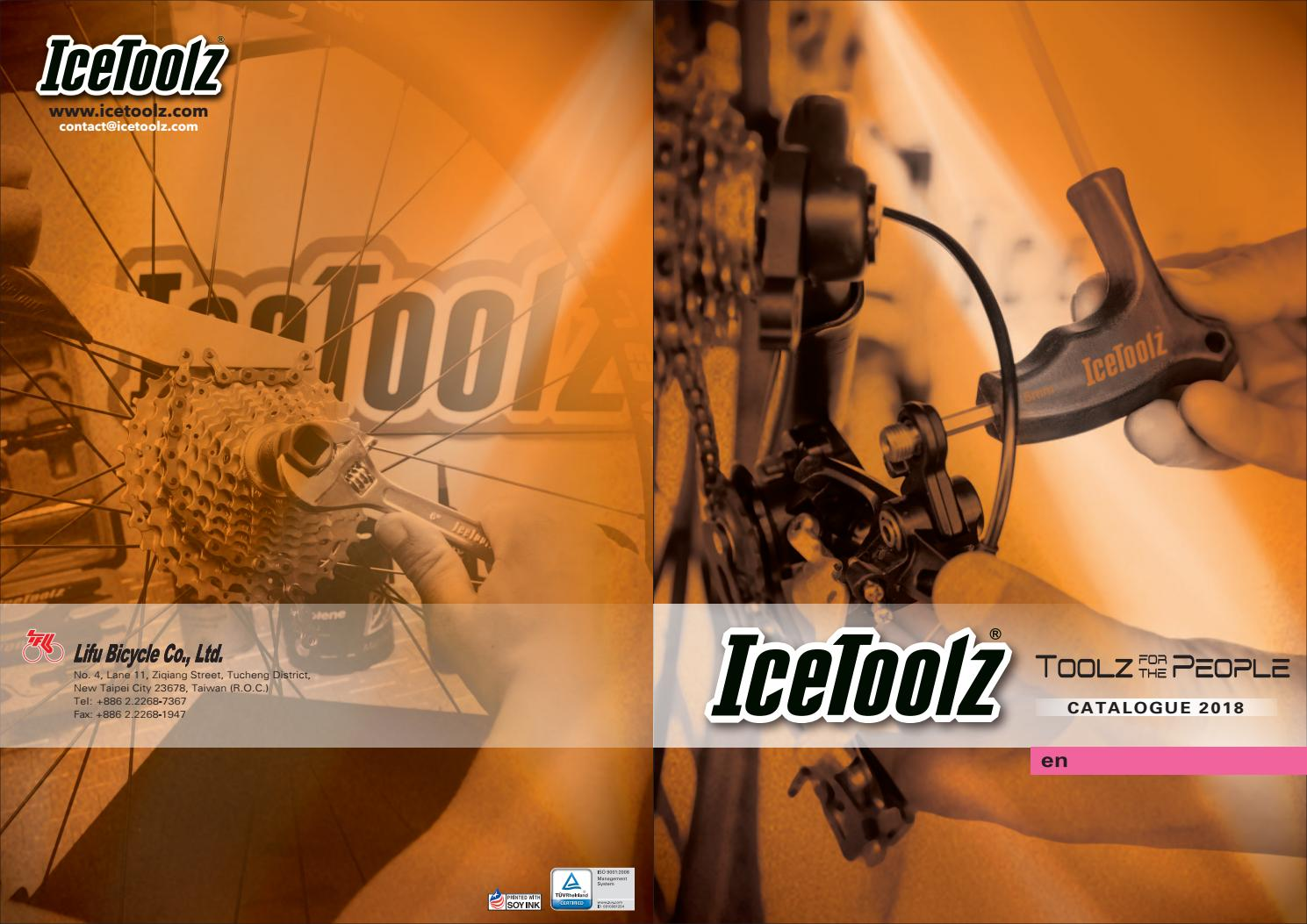 ICETOOLZ 27P3 TOOL CHAINRING BOLT SCREWDRIVER STYLE ICE TOOLZ