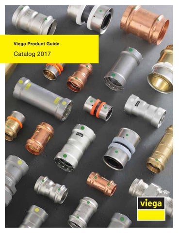Type L Copper, 17120 2//Each Viega Manifold Valveless