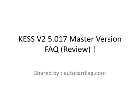 Kess V2 5 017 Master Version FAQ (Review) by euctuning - issuu