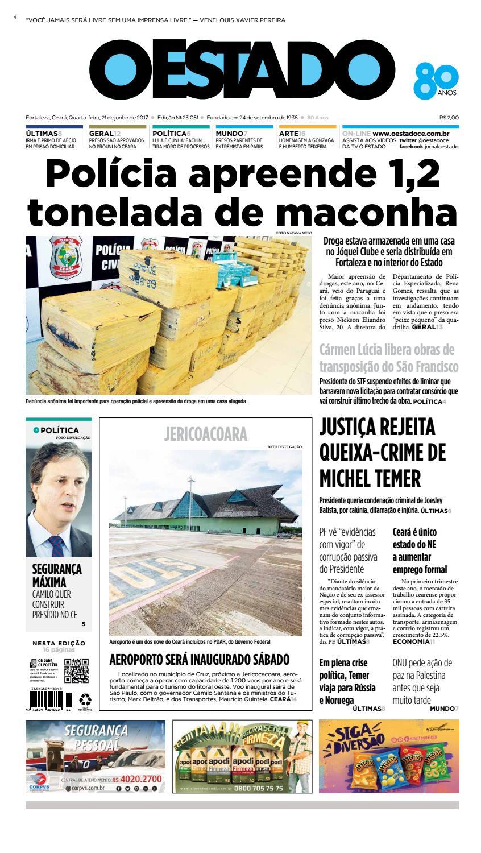 a6540a935f 21 06 2017 -Edição 23050 by Jornal O Estado (Ceará) - issuu