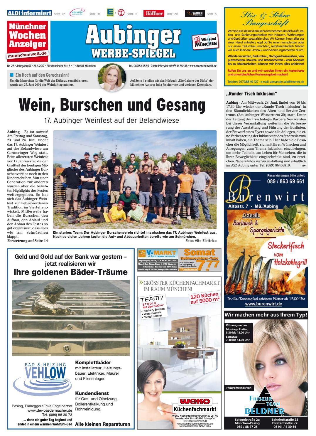 KW 25 2017 By Wochenanzeiger Medien GmbH   Issuu
