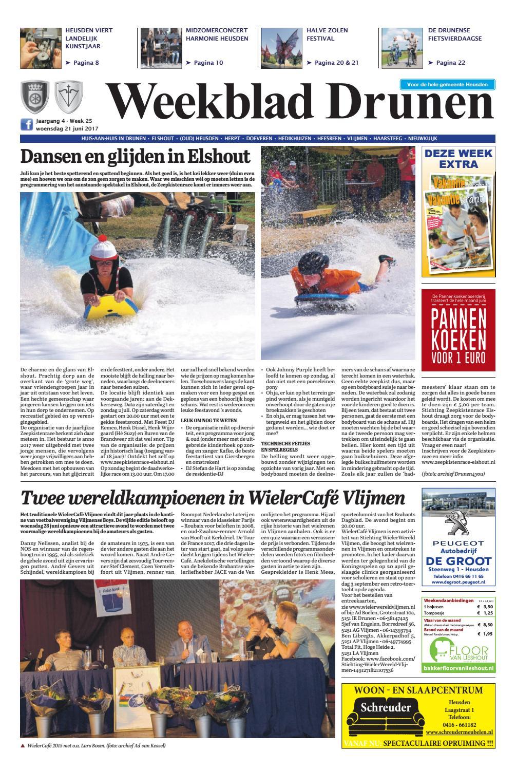 6239a8cb0d1 Weekblad Drunen 21-06-2017 by Uitgeverij Em de Jong - issuu