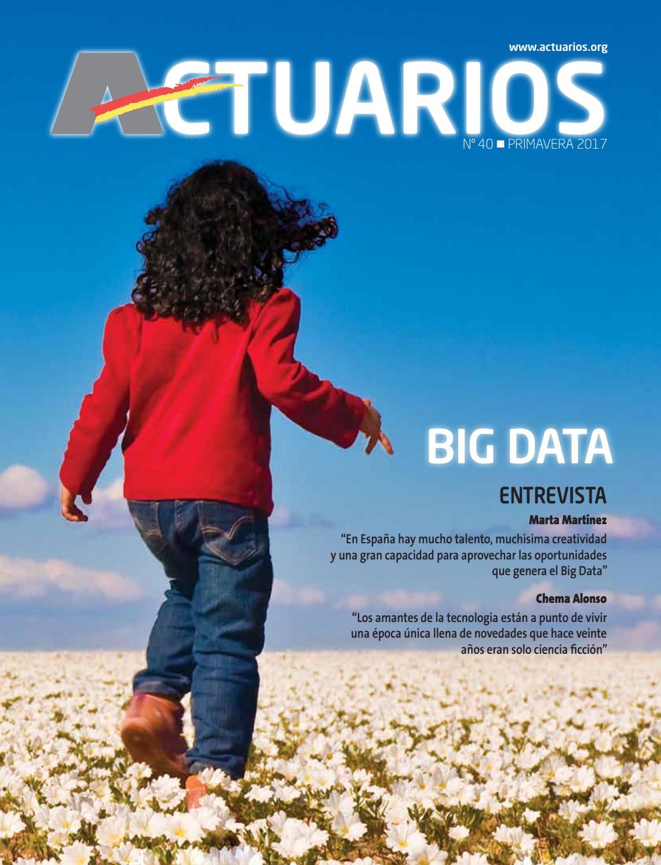 Actuarios 40 by Instituto de Actuarios Españoles - issuu