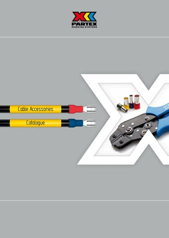 e7cc0fca466f Partex cable accessories catalogue 2017 by Partex Marking Systems UK ...