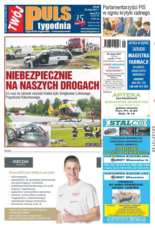 7c172fab37c25f Twój Puls Tygodnia - nr 750 - 23 maja 2017 r. by Puls Tygodnia - issuu
